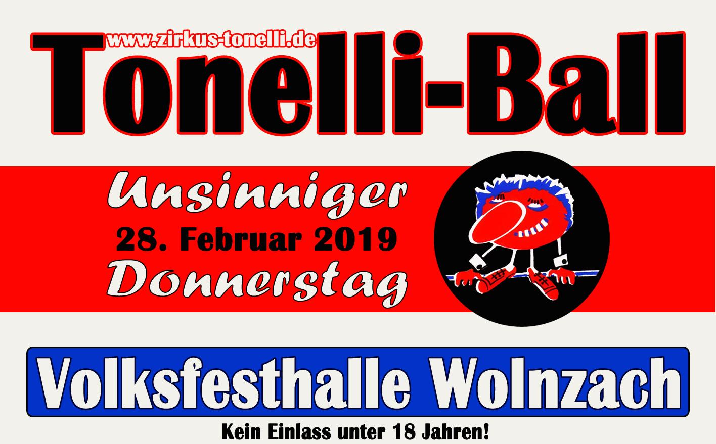 Tonelliball 2019